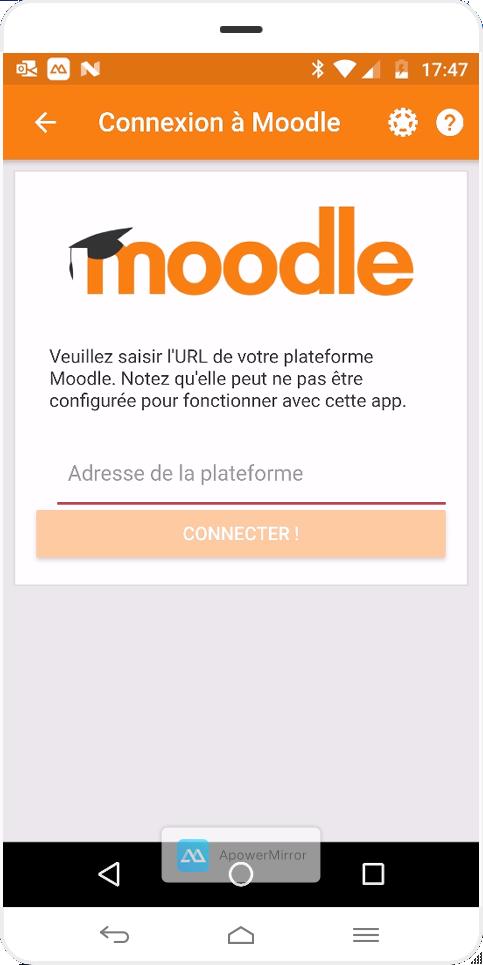Application Moodle